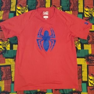 Under Armour Marvel collaboration mens tee